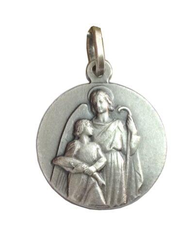 Saint Raphael La Arcangel-Argent Sterling 925 médaille