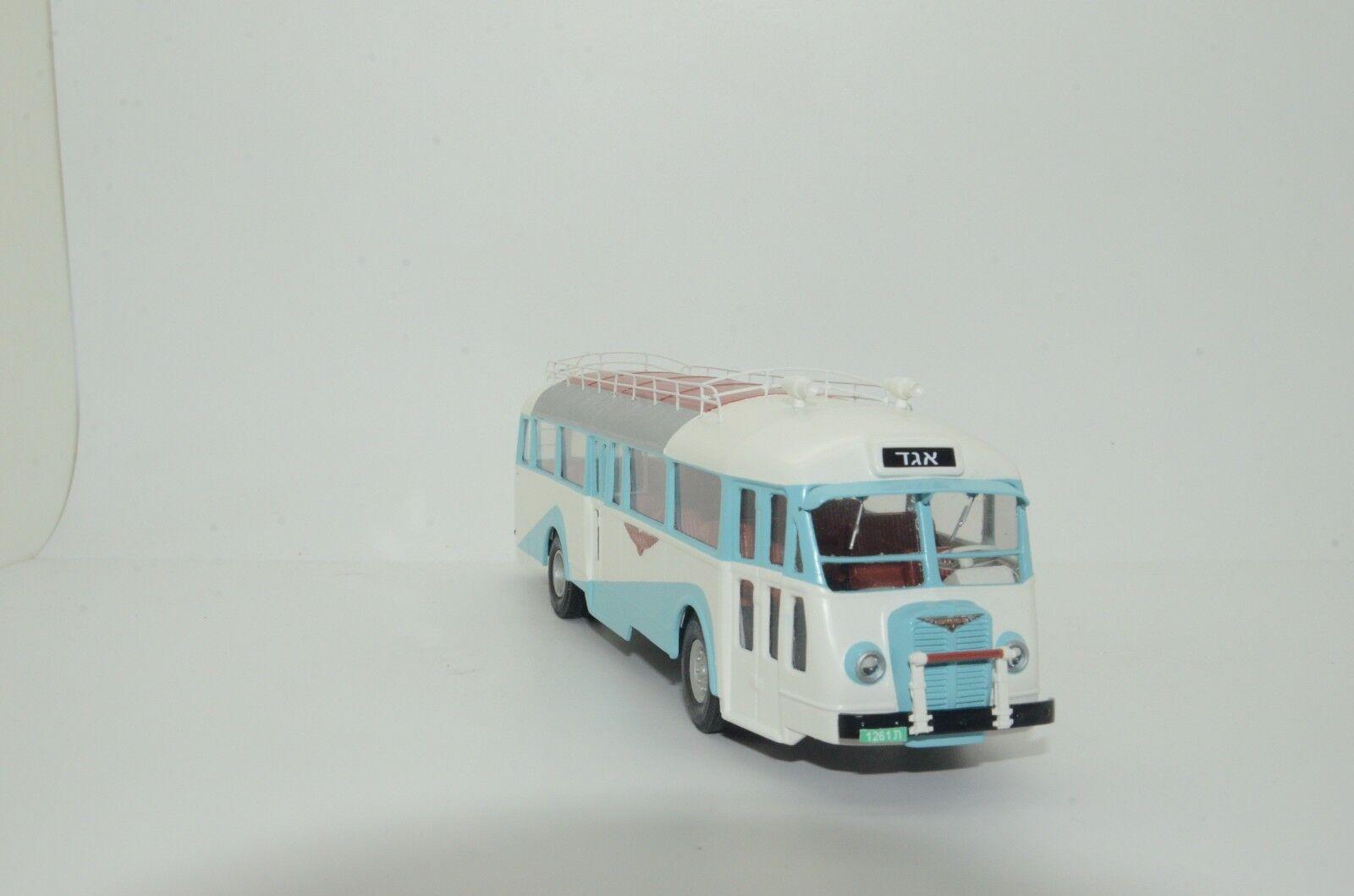 MEGA RARE Chausson APH (2 -2 -0) EGGED Israel buss Hand Made Vector modellllerler 1  43