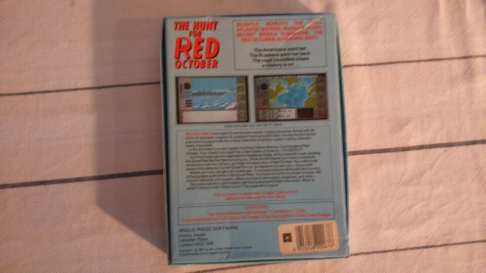 The Hunt for RED October, Commodore 64
