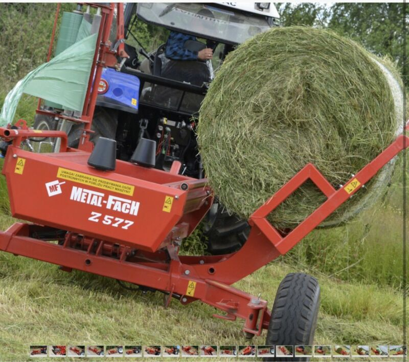 Silage bale wrappers