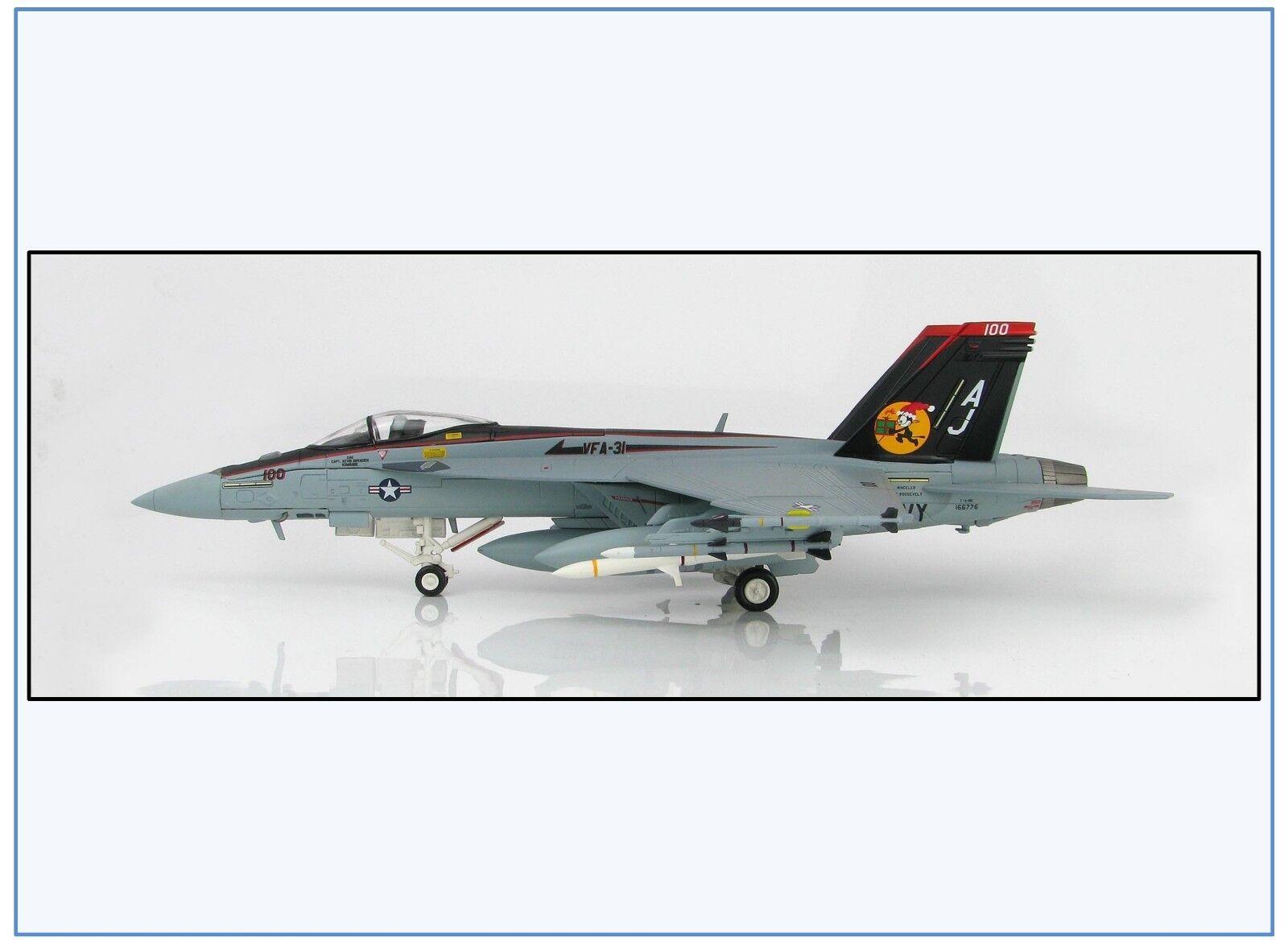 Ha5107 f a-18e US Navy vfa-31  santatomcatters , 2008, HOBBY MASTER 1 72,neu 1 19 &