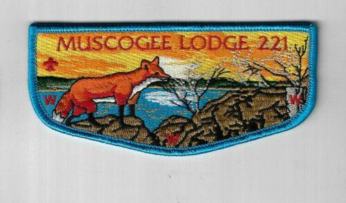 OA  221 Muscogee WWW Flap BBL Bdr Indian Waters Columbia ZIG638 SC