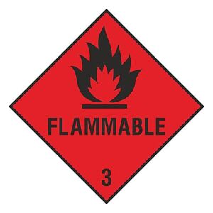 1 X Inflammable Autocollant Pour Portable Tablette Porte Casier Pare-chocs