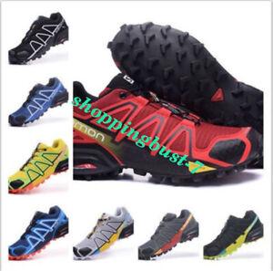 Detalles de Salomon Speedcross 4 hombre Zapatillas deportivas de senderismo  para correr