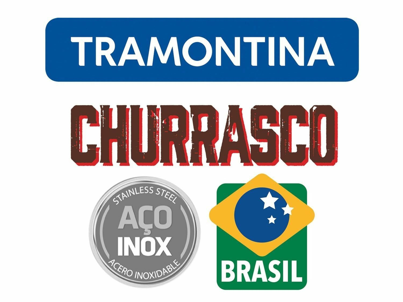 TRAMONTINA Churrasco 5 5 5  Steak Pizza Knives Set 12pcs.Grill BBQ Wooden Handle 3e6bf5