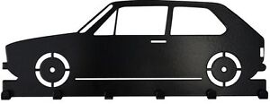 Schluesselbrett-VW-Golf-1-Schluesselbord-Oldtimer-Golf-GTI-Volkswagen-schwarz