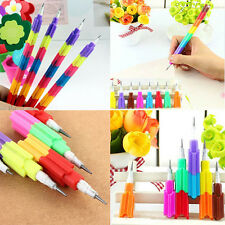 2Pcs Mini 8 Colors Pencils Stacker Swap Building Block For Kid's Best Gift