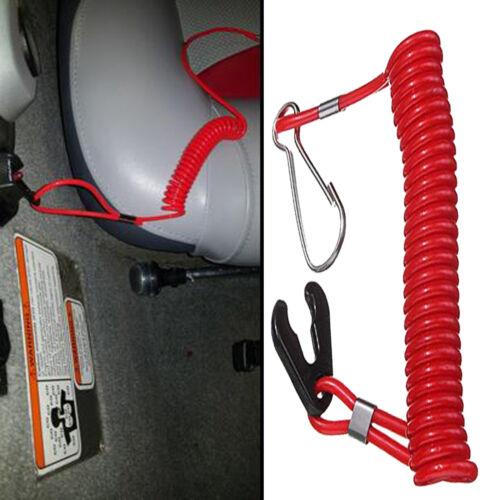 2× Jet Ski Outboard Eng Motor Kill Switch Safety Lanyard Key Tethers Yamaha PWC