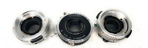 Three-Vintage-Lens-Synchro-Compur-C-P-Goerz-Berlin-UNTESTED