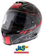 XS IXS HX 215 Zenium Full Face Motorcycle Helmet Matt Black Green J/&S