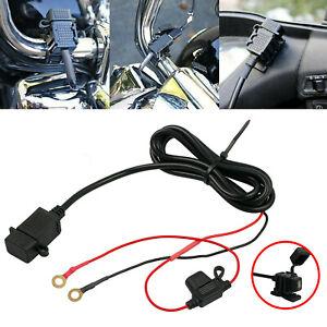 12V-24V-Motorbike-Mototcycle-Waterproof-USB-Charger-Power-Socket-Outlet-Adapter