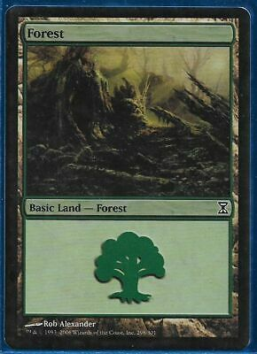 Time Spiral FOIL Forest Card n° 298