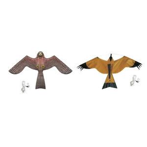 BIRD SCARER HAWK Kite Kit Crop Protection de l/'étang #A