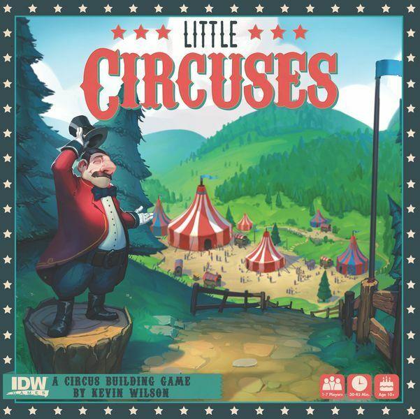 barato y de moda Little circos Juego de Mesa por IDW Juegos Nuevo Nuevo Nuevo Y En Caja  ganancia cero