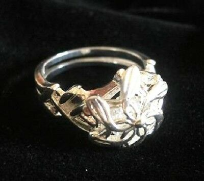 Galadriel Ring Nenya Water Lotr Lord of the Rings Stainless Steel