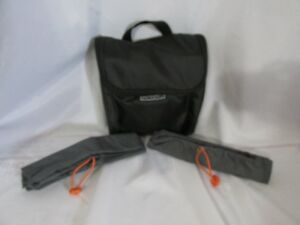 Atlantic Luggage Toiletry Jewelry Bag Cosmetic with Hanger & 2 Storage Bags #35