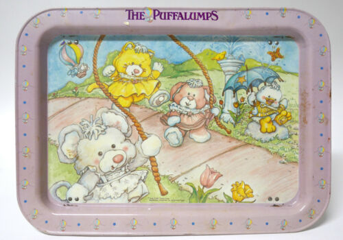 Rare Vintage Fisher Price Puffalump Tray Very Collectible 1987
