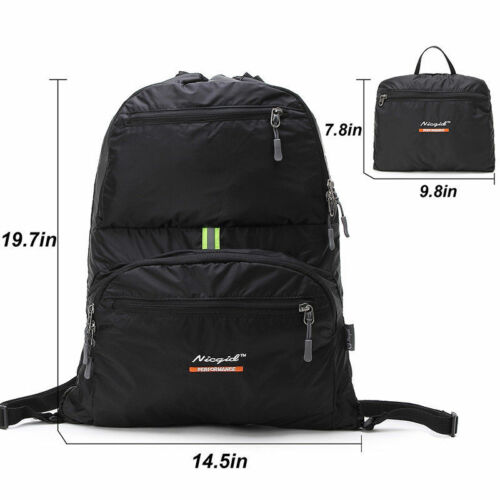 Travel Drawstring Backpack Leisure Shoulders Daypack Outdoor Bag