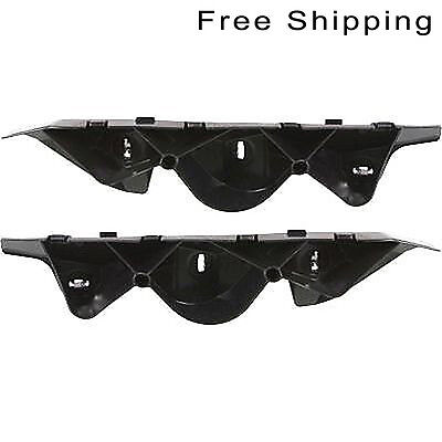 Front LH And RH Side Pair Bumper Bracket Reinforcement Cover Fits Ford Mustang