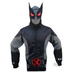 Wolverine-X-Force-Costume-Hoodie-Shirt-Size-XXL-XL-L-M-Mad-Engine-Marvel-Comics