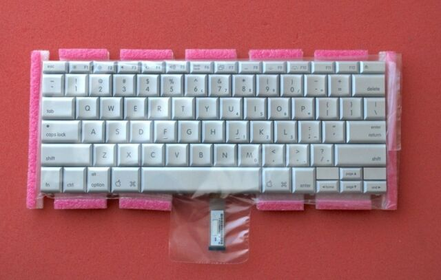 "USED Greek Keyboard Backlit Backlight for Macbook Pro 17/"" A1297 2009 2010 2011"