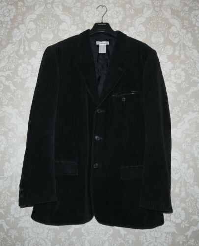 ISSEY MIYAKE Mens Vintage Black Velvet Blazer Jack