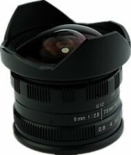 7.5mm F2.8 Manual Fisheye Lens for Fuji X Mount X100F X-T2 X70 X10 X-Pro2 XP2