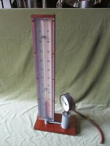 BOYLE-039-S-LAW-APPARATUS-VINTAGE-PHYSICS-by-GRIFFIN-amp-GEORGE-WORKING