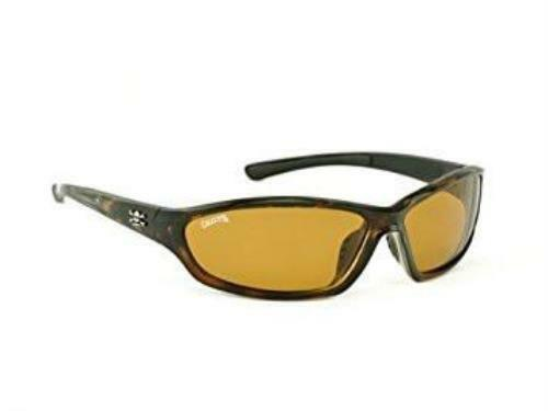 Calcutta Backspray Polarized Sunglasses Tortoise Frame Amber 66mm Lens BS1ATORT