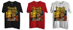 Truckfighters-Gravity-X-T-shirt-rouge-ou-noir-ou-blanc-Homme-Passion-Fu-Manchu