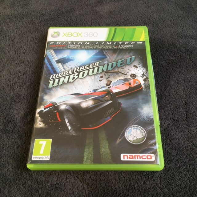 xBox 360 Ridge Racer Unbounded FRA CD état neuf