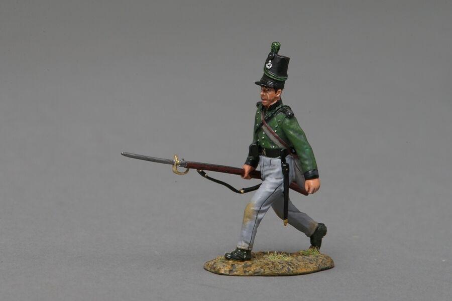 THOMAS GUNN NAP044A KGL Kings German Legion Rifle at the Trail - Napoleonic