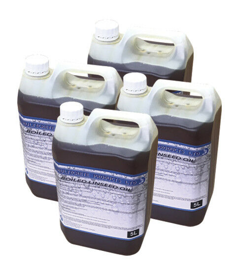 Boiled Linseed Oil - 20 Litres Traditional Wood Treatment Seal/oil Bare  Woods