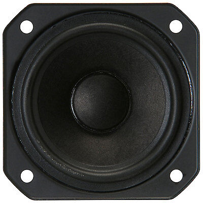 "NEW 2.5/"" Square Frame Full Range Woofer Speaker.Mini Compact Driver.4ohm project"