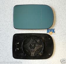 Spiegelglas Außenspiegel rechts heizbar getönt asphärisch, BMW 5er E39, 7er E38