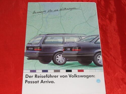 """VW PASSAT b3 typ35i /""""arriva/"""" speciale modello prospetto poster di 1992"""