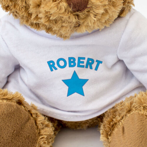 Teddy Bear NEW Gift Present Birthday Xmas Cute And Cuddly ROBERT