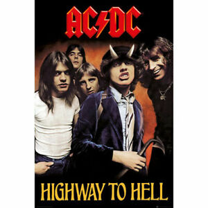 ACDC-Highway-to-Hell-POSTER-61x91cm-NEW-ac-dc-band