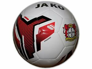 JAKO-Bayer-04-Leverkusen-Fussball-weiss-B04-Fan-Ball-Trainingsball-Werkself-Gr-5
