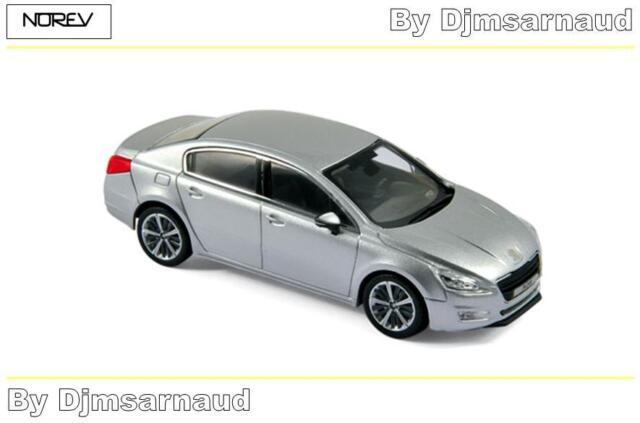 Peugeot 508 de 2012 Aluminium Grey NOREV - NO 475806 - Echelle 1/43