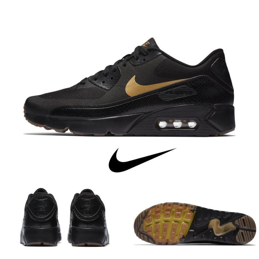 Nike Air Max 90 Ultra Essential Running Running Running scarpe da ginnastica nero 875695 016 Sz 4-13 eaeaba
