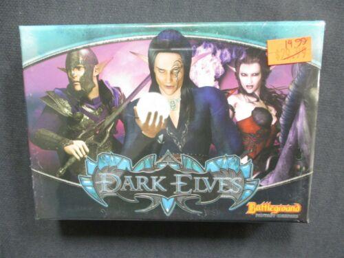 OEJ ~ Battleground Fantasy Warfare ~ Dark Elves Faction ~ Card Game