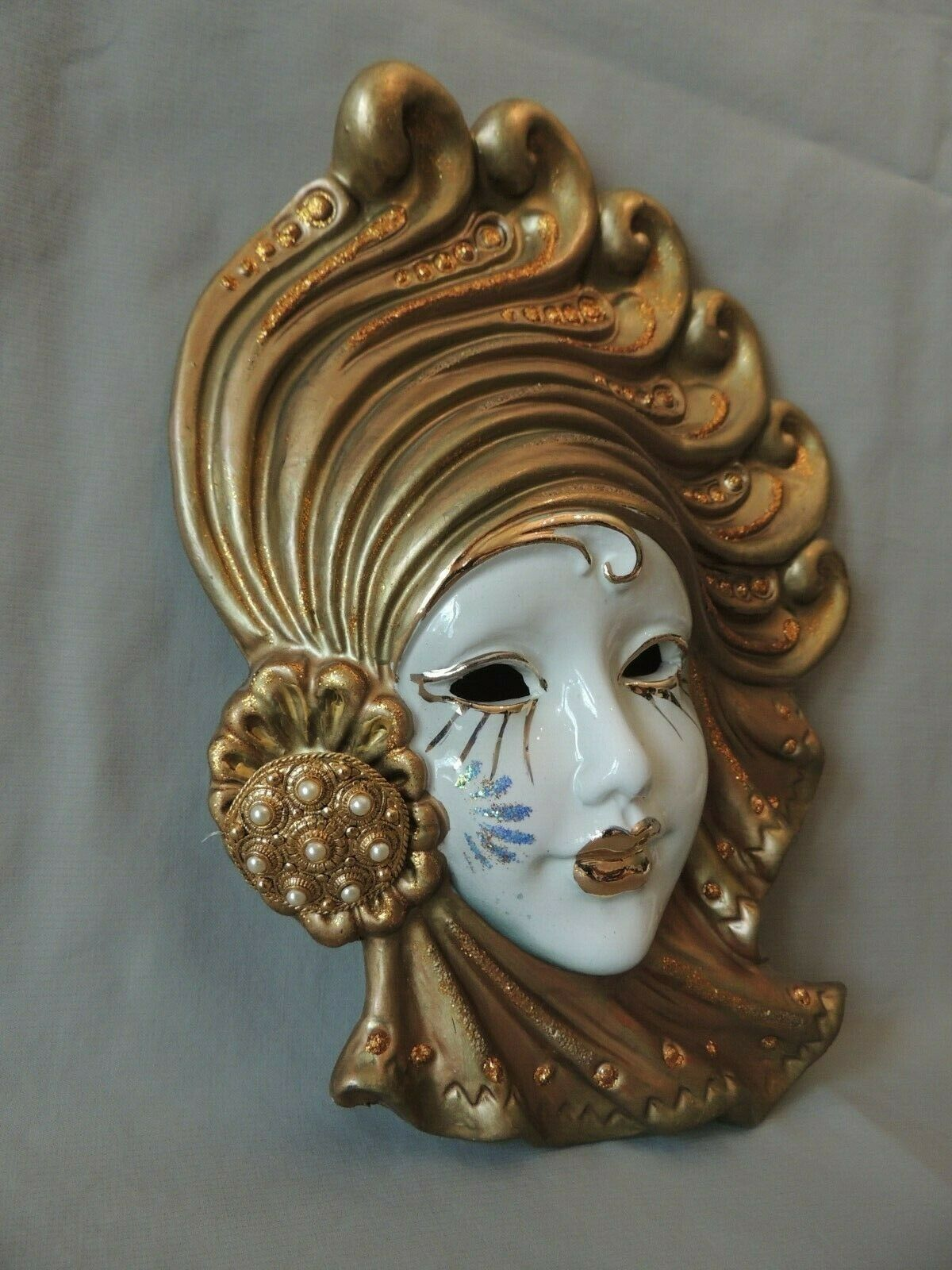 Collectible Decorative Ceramic Mask GL BOOO 27x20cm