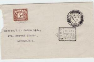 ipswich suffolk 1946 to pay   stamps cover ref r16236