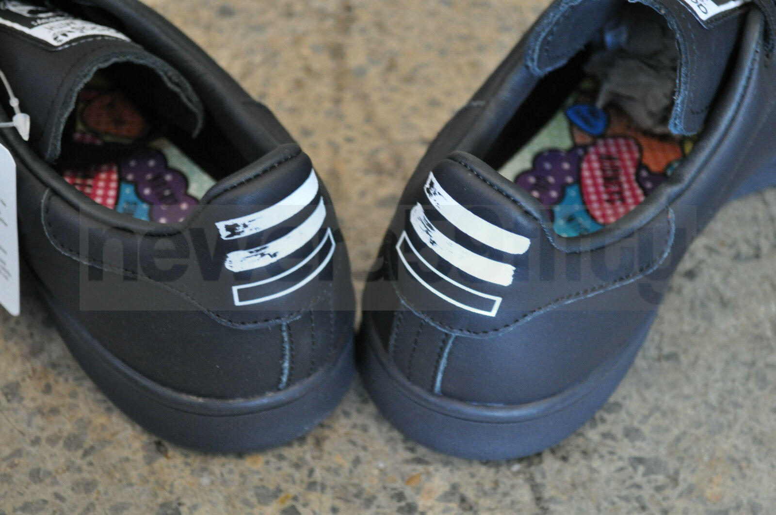 online retailer 98fa4 86490 60%OFF Adidas Consortium x Pharrell Williams Stan Smith Solid - Black