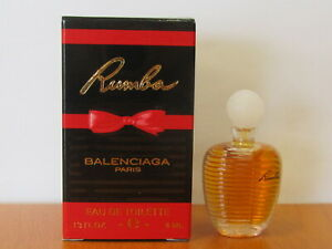 Descripción tortura Descenso repentino  Vintage Rumba Balenciaga Perfume Women .13 oz / 4 ml Eau De Toilette  Miniature | eBay