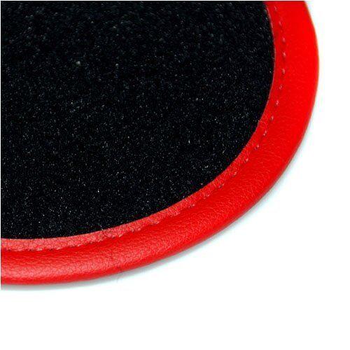 Ajuste Perfecto Alfombra Negra alfombrillas de coche adaptado para Hyundai Veloster 2011 /> Fijaciones