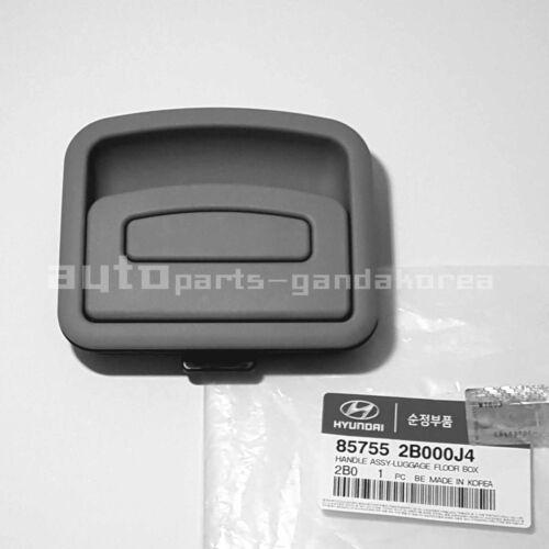 857552B000J4 Rear Cargo Tray Handle Gray For HYUNDAI SANTA FE 2005-2009