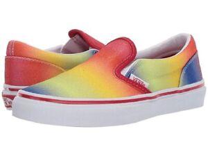 rainbow vans size 5.5
