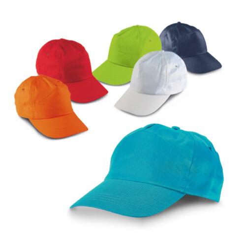Kids Plain Baseball Cap Adjustable School Girls Boys Junior Childrens Hat Summer